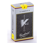 Vandoren CR193 Bb Clarinet V.12 Reeds Strength #3; Box of 10