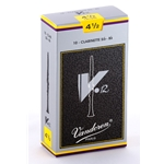 Vandoren CR1945 Bb Clarinet V.12 Reeds Strength #4.5; Box of 10