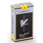 Vandoren CR195 Bb Clarinet V.12 Reeds Strength #5; Box of 10