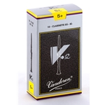 Vandoren CR196 Bb Clarinet V.12 Reeds Strength #5+; Box of 10