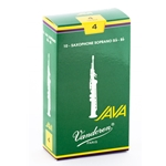 Vandoren SR304 Soprano Sax Java Reeds Strength #4; Box of 10