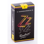 Vandoren SR403 Soprano Sax ZZ Reeds Strength #3; Box of 10