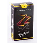 Vandoren SR414 Alto Sax ZZ Reeds Strength #4; Box of 10