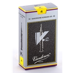 Vandoren SR604 Soprano Sax V.12 Reeds Strength #4; Box of 10