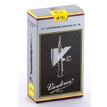 Vandoren SR6045 Soprano Sax V.12 Reeds Strength #4.5; Box of 10