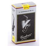Vandoren SR6125 Alto Sax V.12 Reeds Strength #2.5; Box of 10