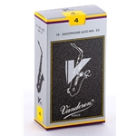 Vandoren SR614 Alto Sax V.12 Reeds Strength #4; Box of 10