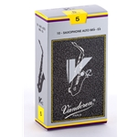 Vandoren SR615 Alto Sax V.12 Reeds Strength #5; Box of 10