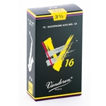 Vandoren SR7035 Alto Sax V16 Reeds Strength #3.5; Box of 10