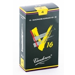 Vandoren SR714 Soprano Sax V16 Reeds Strength #4; Box of 10