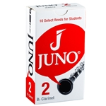 Juno  JCR012 Bb Clarinet, Box of 10 reeds, #2