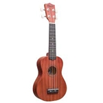 Amahi DDUK11-New! Soprano Mahogany Top, Back & Sides