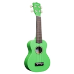 Amahi PGUKGR Soprano Penguin Ukulele, Green Color
