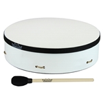 Remo  E1-0314-00-AD ArtDRUM Buffalo Drum - White, 14""