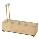 Remo  GB-1304-00  Gato Box - Natural, 10""