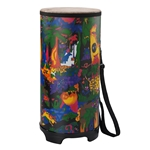 Remo  KD-0010-01  Kids Percussion® Tubano® Drum - Fabric Rain Forest, 10""