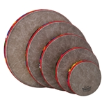 Remo  KD-0500-01  Kids Percussion® Frame Drum - Fabric Rain Forest, Pack