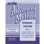 Rubank Advanced Method - Trombone or Baritone, Vol. 1