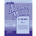 Rubank Advanced Method, Vol. 1 - Bass/Tuba (B.C.)
