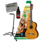 Yamaha C40PKG GigMaker Classic guitar package: C40II, gig bag, instructional DVD