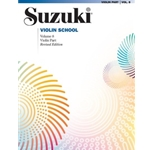 Suzuki Violin School Violin Part Volume 8 (Revised) Book Only