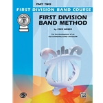 First Division Band Method, Trumpet, Part 2
