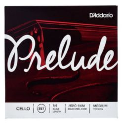Prelude by Daddario J1010 1/4M CELLO SET 1/4 MED