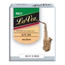 RJC10MD La Voz  Alto Saxophone Reeds, Strength Medium, 10 Pack