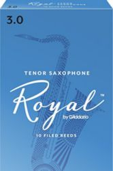 Royal by Daddario RKB1030 Tenor Sax Reeds, Strength 3, 10-pack