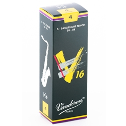 Vandoren SR724 Tenor Sax V16 Reeds Strength #4; Box of 5