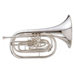 "KING 1122SP Marching Brass ""Ultimate"" Marching French Horn - Key of Bb"