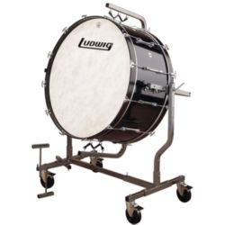 "LUDWIG  Ludwig LECB86X8G 18x36"" Drum with LE788 Suspended Stand"