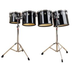 "LUDWIG  Ludwig LECT04CCG 10"", 12"", 13"", 14"" Mid Range set w/LM442TSR stands"