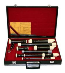 Aulos C573  500 Series 4-Recorder Set