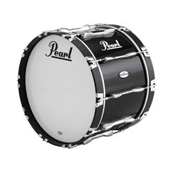 "Pearl PBDM2214A46 22""x14"" Championship Maple Bass Drum in finish #46 Midnight Black"