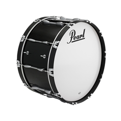 "Pearl PBDM2814A46 28""x14"" Championship Maple Bass Drum in finish #46 Midnight Black"