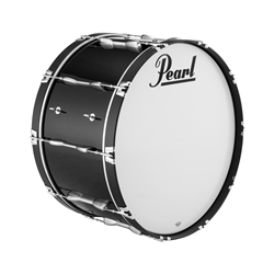 "Pearl PBDM3216A46 32""x16"" Championship Maple Bass Drum in finish #46 Midnight Black"