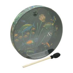 Remo  ET-0216-10  Ocean Drum® - Fish Graphic, 16""