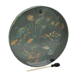 Remo  ET-0222-10  Ocean Drum® - Fish Graphic, 22""
