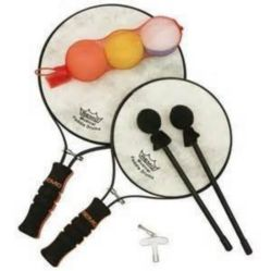 Remo  PD-0001-00  Paddle Drum Balls - 3 Pack