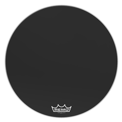 Remo  PM-1432-MP  Powermax® Ebony® Crimplock® Bass Drumhead, 32""