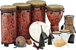 Remo  PP-WMDC-EE  World Music Drumming Drum Pack, Package E