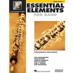 Essential Elements for Band - Book 1 with EEI - Oboe