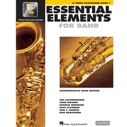 Essential Elements for Band - Book 1 with EEI - Bb Tenor Saxophone