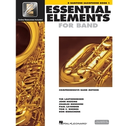 Essential Elements for Band - Book 1 with EEI - Eb Baritone Saxophone