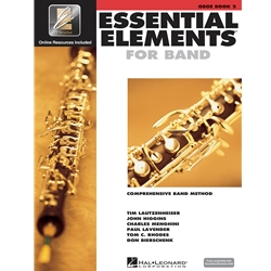 Essential Elements for Band - Book 2 with EEi - Oboe
