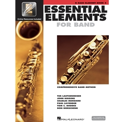 Essential Elements for Band - Book 2 with EEi - Bb Bass Clarinet