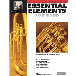 Essential Elements for Band - Book 2 with EEi - Baritone B.C.