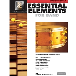 Essential Elements for Band - Book 2 with EEi - Percussion/Keyboard Percussion
