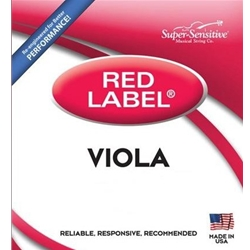 Super Sensitive 4102_SS RED LABEL VIOLA SET SUB MINI 11""